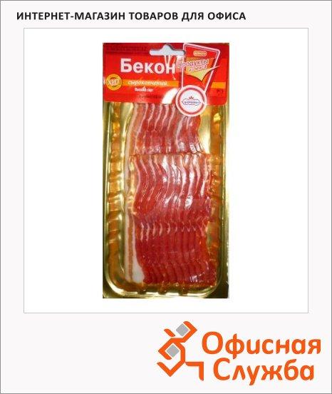 Бекон Царицыно сырокопченый, 150г, нарезка