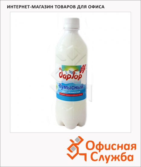 фото: Кисломолочный напиток Дар Гор Кумысный 1.2% 5л