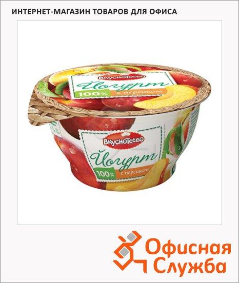 фото: Йогурт Вкуснотеево персик 3.5%, 140г