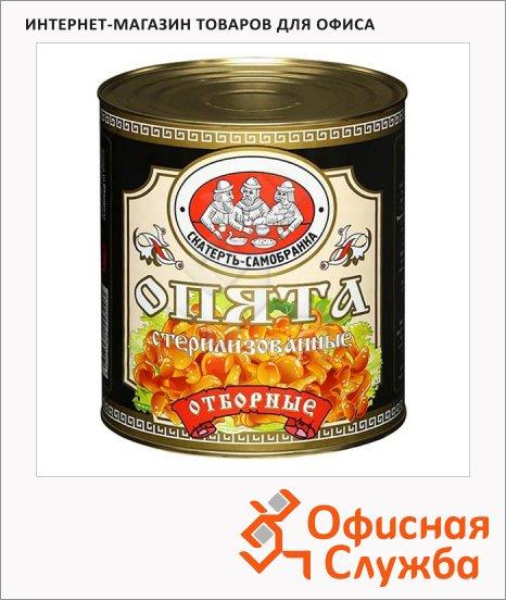Грибные консервы Скатерть-Самобранка опята стерилизованные, 3.1л