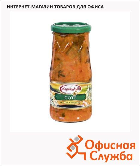 Консервированные овощи Маринадовъ соте из баклажанов, 510г