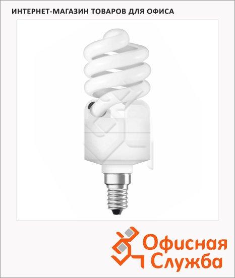 Лампа люминесцентная Osram 15Вт, Е14