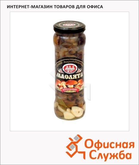 Грибные консервы Скатерть-Самобранка маслята маринованные, 370г