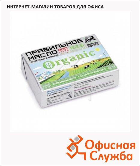 Масло сливочное Правильное Масло Organic 82.5%, 200г