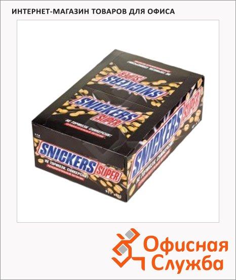 фото: Батончик шоколадный Snickers с арахисом 32шт х 95г