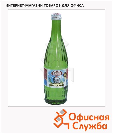 фото: Вода минеральная Нагутская газ 500мл, стекло