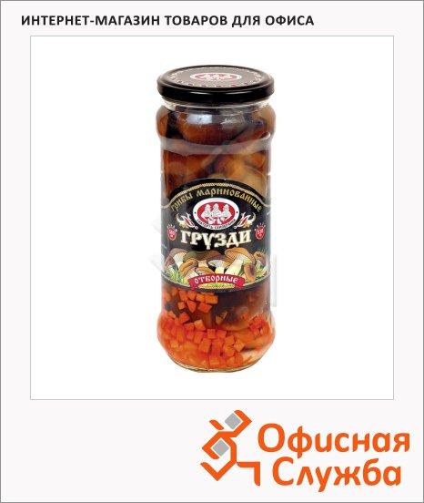 Грибные консервы Скатерть-Самобранка грузди маринованные, 580г