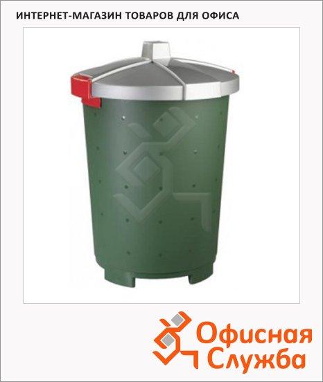 Бак для мусора Бытпласт Бинго 65л, 4312277
