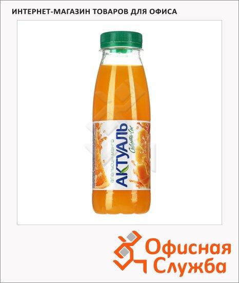 фото: Молочносоковый напиток Актуаль на сыворотке апельсин-манго 330г