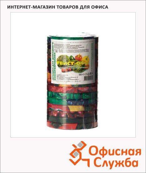 Крышки для консервирования Твист-Офф III-100 d=100мм, винтовые, 15шт/уп