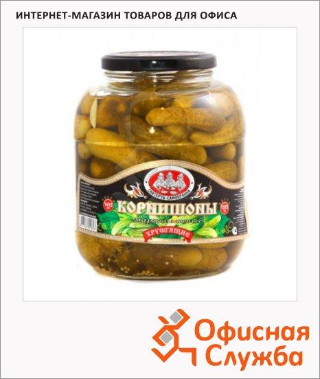 Огурцы Скатерть-Самобранка корнишоны, 1415мл