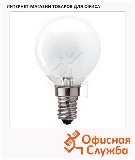 фото: Лампа накаливания Osram Classic 40Вт E14, 2700К, теплый белый свет, шар 10шт/уп