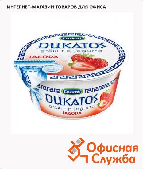 Йогурт Dukat греческий клубника