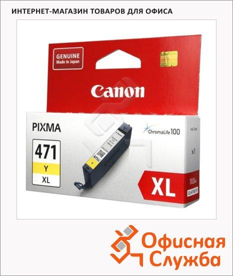 Картридж струйный Canon CLI-451XLY, желтый