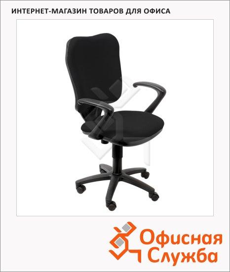 фото: Кресло офисное Бюрократ CH-540AXSN ткань крестовина пластик, черная