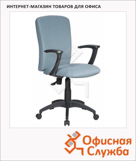фото: Кресло офисное Бюрократ CH-470AXSN ткань серая, крестовина пластик