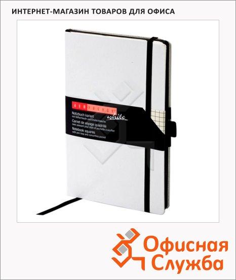 Блокнот Brunnen Компаньон Мирадор белый, А5, 96 листов, кремовая бумага, в клетку