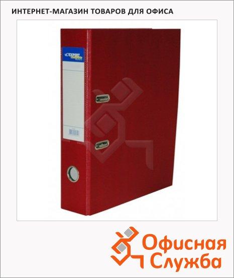 Папка-регистратор А4 Expert Complete Premium вишня, 80 мм