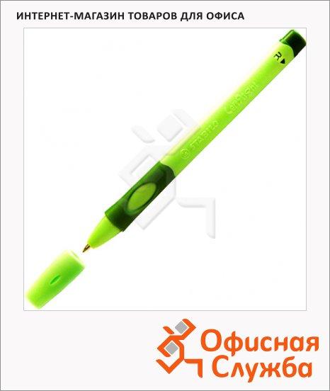 фото: Ручка шариковая Stabilo LeftRight 6328 синяя 0.4мм