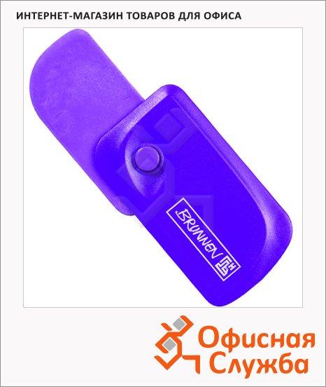 фото: Ластик Brunnen Клик фиолетовый 5.9х3.3x1.5см