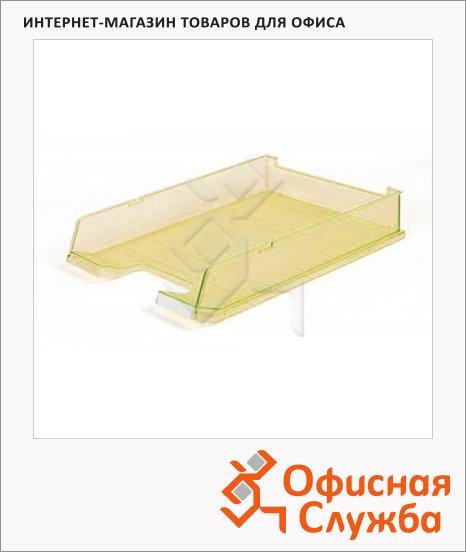 Лоток горизонтальный для бумаг Han А4, желтый, 65373