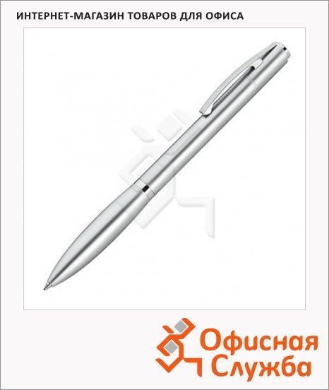 фото: Ручка шариковая Lerche ScriNova Avanti черная серебристый корпус, 80216