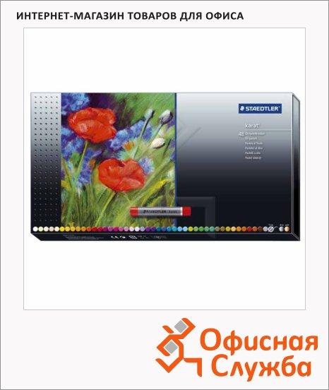 фото: Пастель художественная Staedtler Karat масляная, 48 цветов