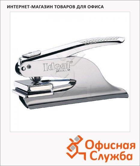 Оснастка для рельефной печати круглая Trodat Ideal М1 d=41мм, хром