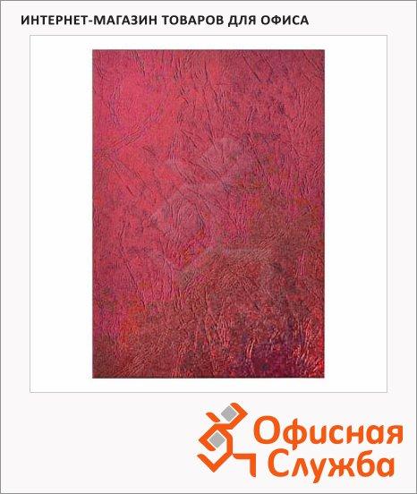 Обложки для переплета картонные Profioffice красные, А4, 230г/кв.м, 100шт, 29104