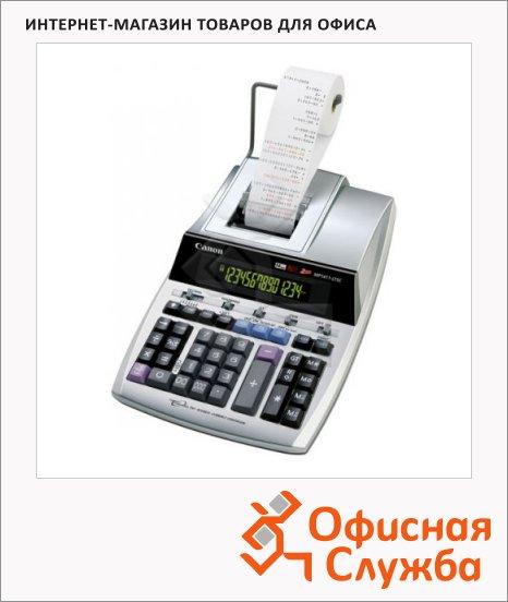 Калькулятор с печатающим устройством Canon MP 1611LTSC двухцветная печать, 16 разрядов
