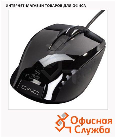 фото: Мышь проводная Hama Cino, чёрный