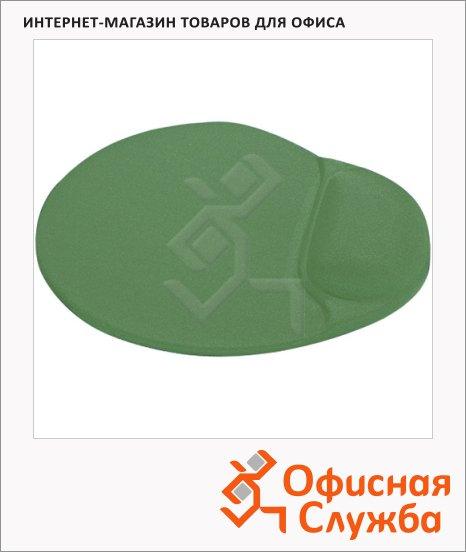 фото: Коврик для мыши Buro светло-зеленый с гелевой подкладкой