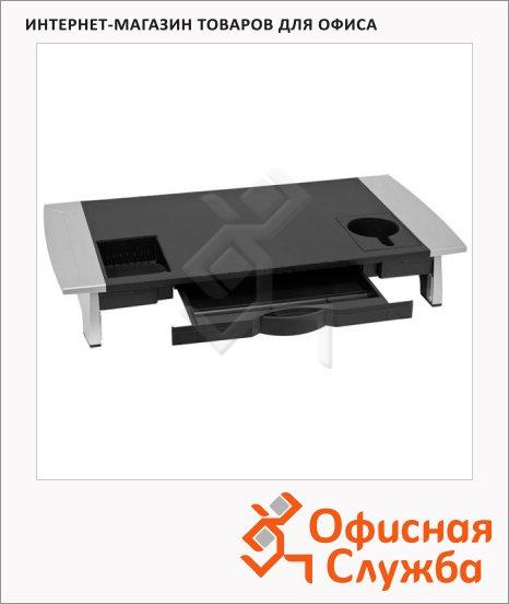 фото: Подставка для монитора Fellowes Premium FS-803 67,6x10,6x35,6см до 36 кг
