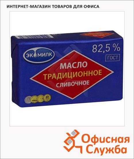 фото: Масло сливочное Экомилк Традиционное 82.5% 450г
