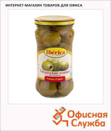 Оливки Iberica гигантские с косточкой, 340г
