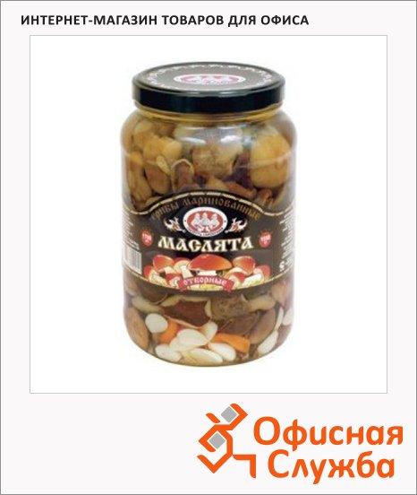фото: Грибные консервы Скатерть-Самобранка маслята маринованные 1600г