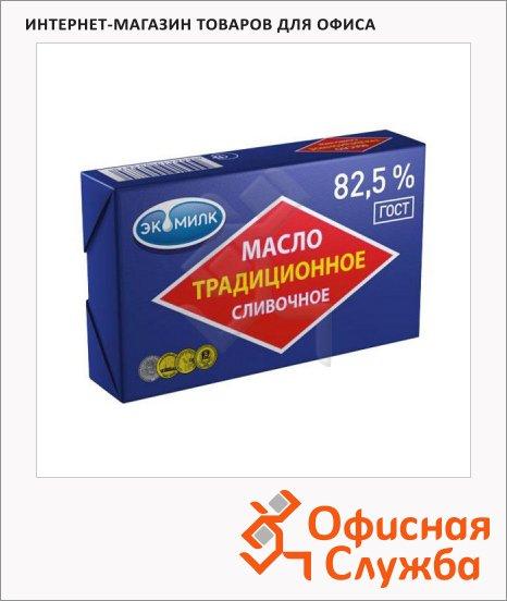 Масло сливочное Экомилк Традиционное 82.5%, 180г