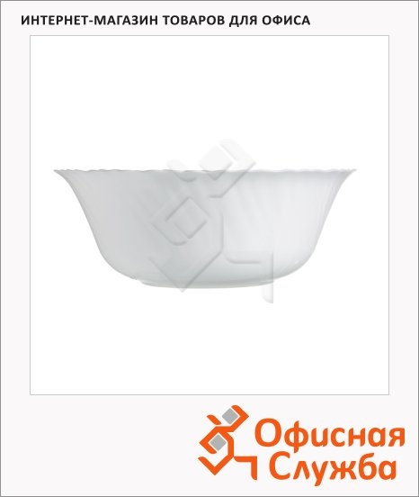Салатник Luminarc Feston белый, d=12см