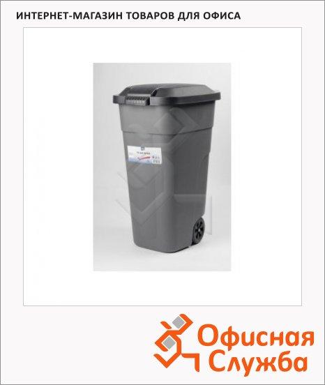 фото: Бак для мусора на колесах пластиковый