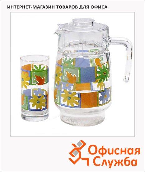 фото: Питьевой набор Luminarc кувшин и 6 стаканов 1.6л