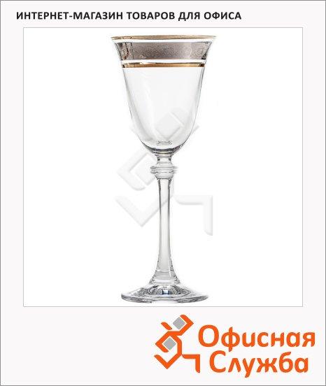 фото: Бокал для вина Bohemia Alexandra 185мл 2шт/уп
