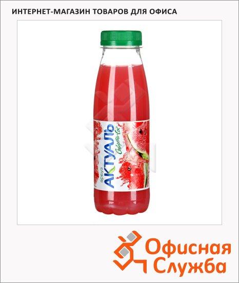 Молочносоковый напиток Актуаль на сыворотке арбуз, 330г