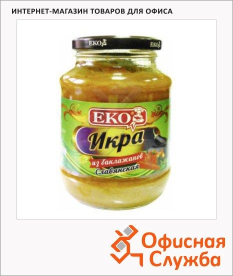 фото: Икра овощная Славянская из баклажанов 480мл