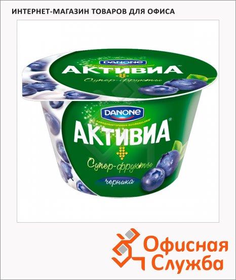 фото: Йогурт Активиа черника 2.4%, 210г