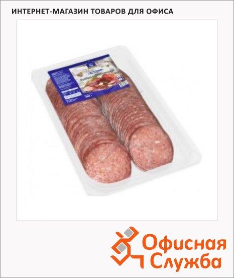 Колбаса Horeca варено-копченая Астория, 500г, нарезка