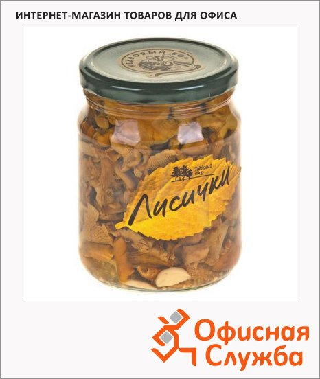Грибные консервы Таёжный Сбор лисички маринованные, 500г