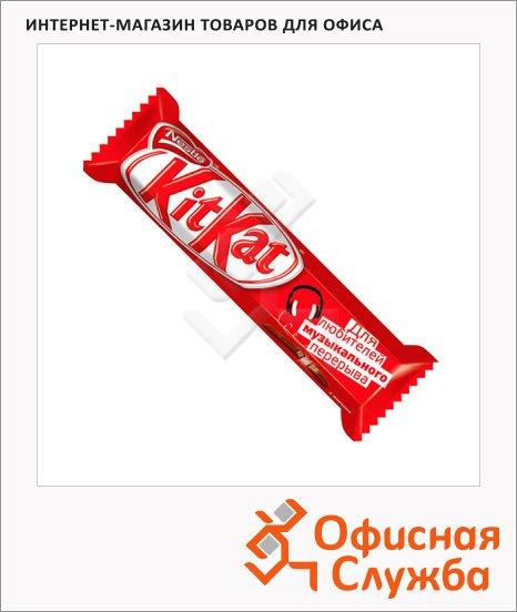 фото: Батончик шоколадный Kit Kat вафельный 40г