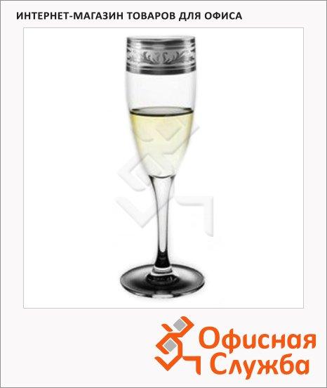 фото: Бокал для шампанского Греческий Узор 170мл 6шт/уп