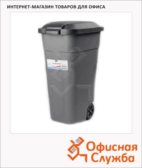 Бак для мусора на колесах Aro 110л, серый