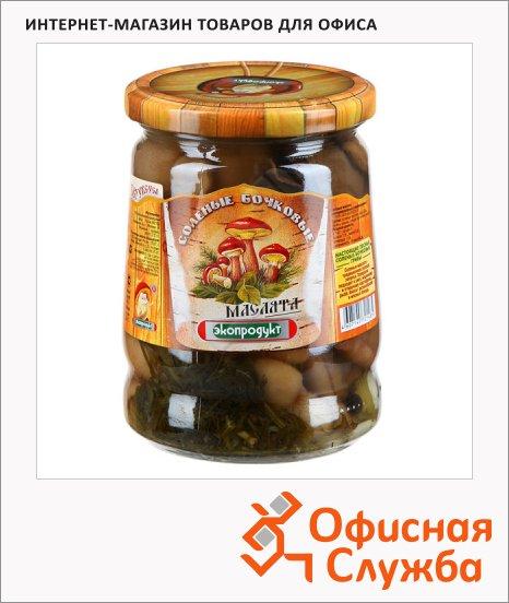 фото: Грибные консервы Экопродукт маслята соленые 540г